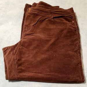 Corduroy pants by Avenue